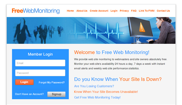 FREE Website Monitoring Tool